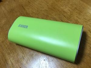 ANKER Astro 第2世代 6000mAh 高性能 大容量 モバイルバッテリー