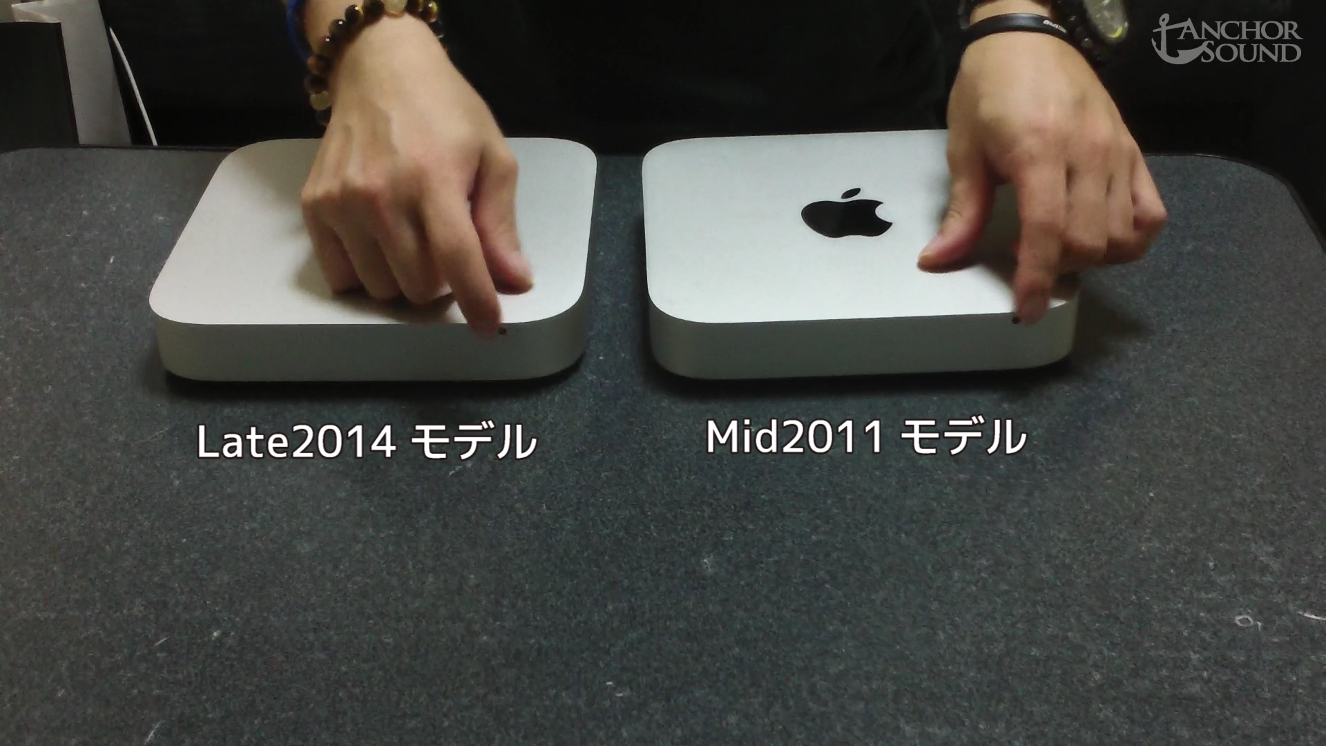 [動画]Mac壊れる~Macmini late2014へ買い替え